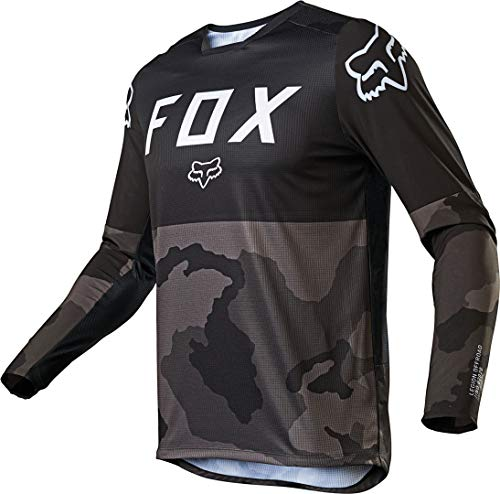 Fox Racing Legion Lt Men's Off-Road Motorcycle Jersey - Black/Camo/Large