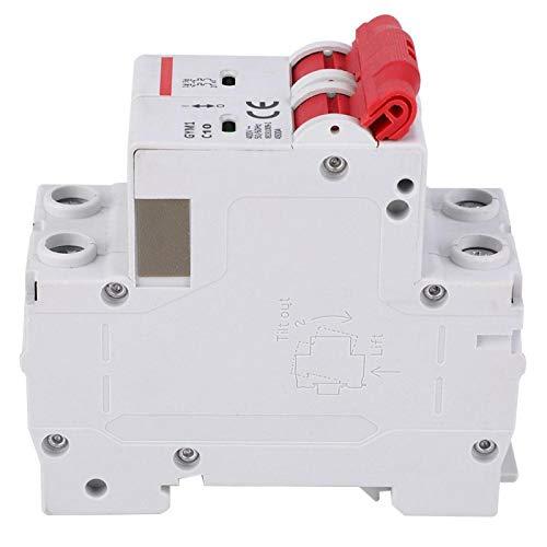 Mini 400V AC 4500A interruptor de aire caja de disyuntor protección contra sobrecarga fugas para riel DIN para montaje en riel DIN(10A)