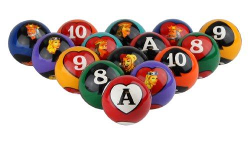 Crown Games Inc Poker Bolas de Billar: Amazon.es: Deportes y aire ...