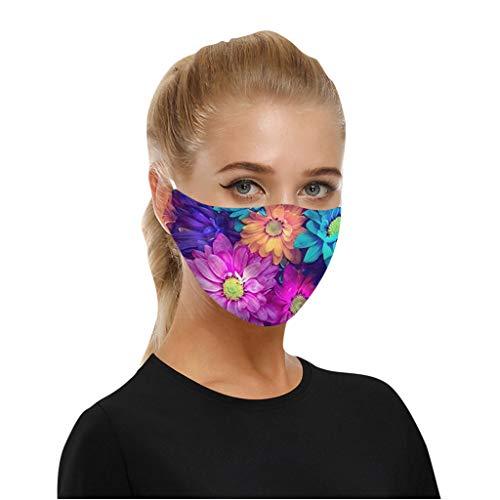 SHUANGA Mundmaske Atmungsaktive Einstellbare Cartoon Nette Anti Staubmaske für Baumwolle Masken Sonnenschutzstaubdicht Warm Maske Soft Skin freundliche Schutzhülle Face Cover