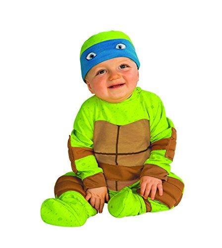 Rubie's Baby's Teenage Mutant Ninja Turtles Animated Series Baby Costume, Multi, 6-12 Months