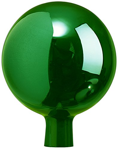Windhager, grün Rosenkugel Gartenkugel Sonnenfänger-Kugel, Glas-Deko für Garten und Terrasse, Winterfest, 16 cm, 07809