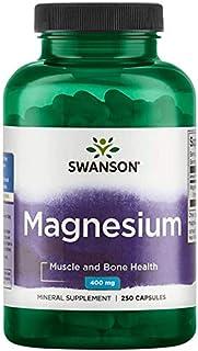 Sponsored Ad - Swanson Magnesium 200 Milligrams 250 Capsules