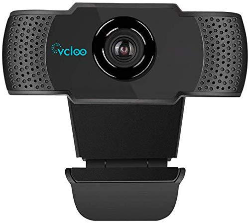 1080P Webcam HD mit Mikrofon USB 2.0-Breitbild-PC-Kamera Autofokus Computerkamera für Computer Desktop Laptop MacBook für Videoanrufe,Online-Unterricht, Spiele, Live-Streaming und Konferenzen
