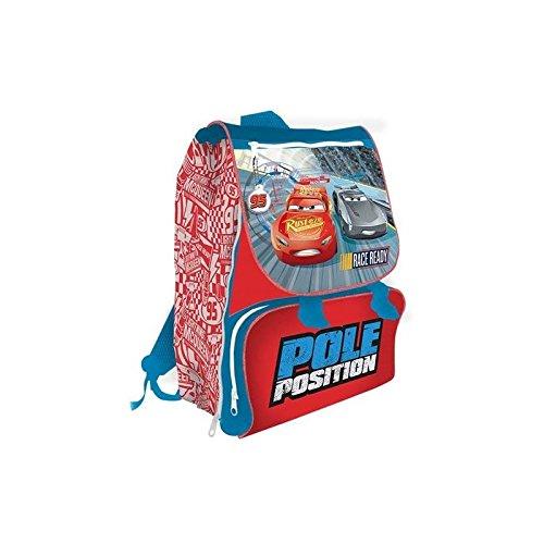 MCM Zaino Estensibile Cars Mochila Infantil 40 Centimeters Rojo (Rojo)