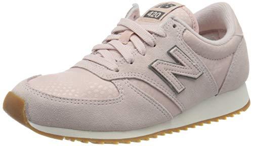 New Balance Damen WL420-PGP-B Sneaker, rosa/hellgrau, 41 EU