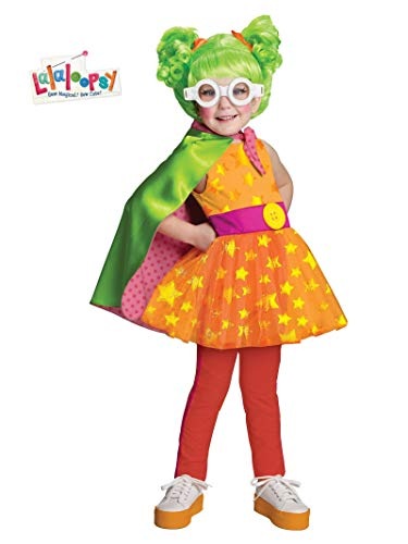 Lalaloopsy Deluxe Dyna Might Costume, Toddler 1-2