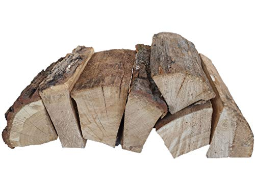 Vertiflower® 120 kg ofenfertiges Eiche Brennholz 25 cm lang trocken - Lieferung KOSTENLOS - Kaminholz Feuerholz Grillholz