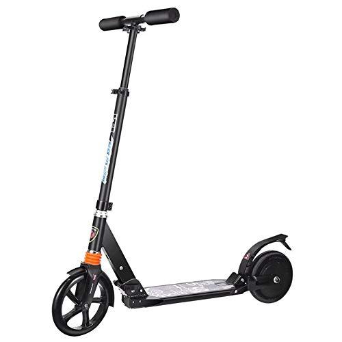 NBWE Scooter eléctrico Plegable Scooter pequeño para Estudiantes Adultos Plegable Mini portátil para Hombres y Mujeres Scooter de Trabajo Suspension