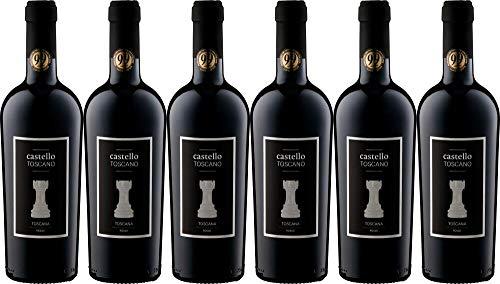 6x Rosso 'Castello Toscano' 2017 - Weingut Castello Toscano, Toscana - Rotwein