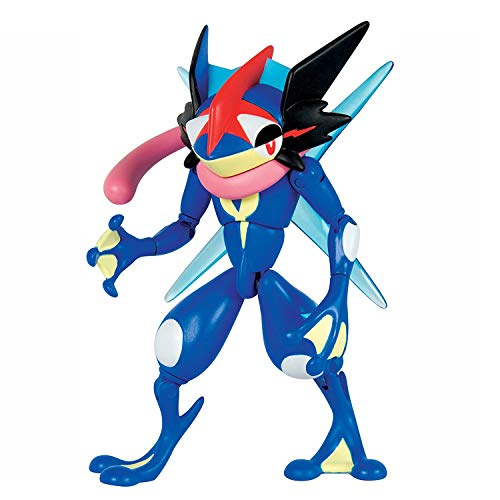 Pokémon Action Pose Pokemon Monster Collection Ash-Greninja Figure Toy Set - 6""
