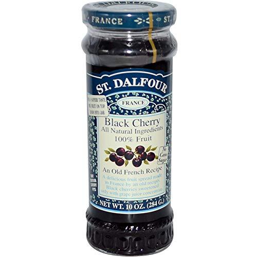 St Dalfour (サン・ダルフォー) フルーツ スプレッド (Black Cherry) [並行輸入品]