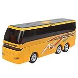 RANNYY Juguete de autobús, Juguete de vehículo, Juguete de autobús eléctrico para niños, vehículos de deformación de plástico, Modelo de autobús Escolar, Juguete con luz