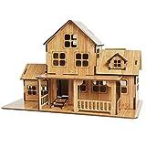 Rompecabezas de construcción antigua, rompecabezas de casas de papel, casas de rompecabezas hermosas y atmosféricas, juguetes educativos, lógica de pensamiento, colección (1A)