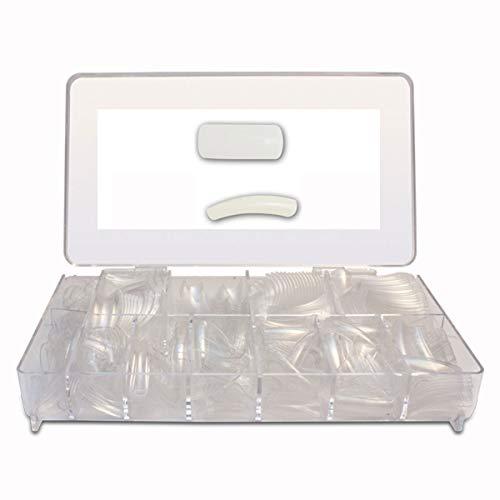 Nail Tips -Punte per unghie Trasparente 500 pezzi - Punte per unghie - unghie artificiali - Nail Tips unghie Tips