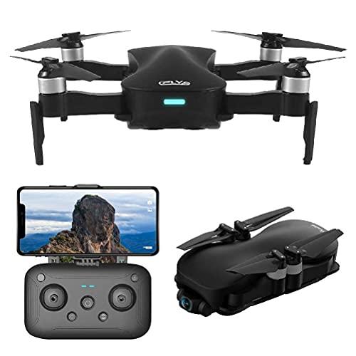 Drone con fotocamera, Drone GPS con fotocamera 4K Live Video, 110deg;Fotocamera grandangolare regolabile, mantenimento dell'altitudine, portata di controllo 3000M con giunto cardanico autostabilizzan