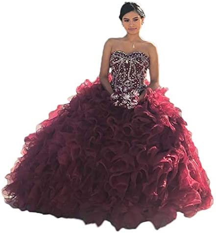 Ruby quinceanera dresses _image0