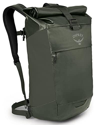 Osprey, Transporter Roll Top zaino per uso quotidiano e brevi spostamenti Haybale Green O/S Unisex-Adult, S