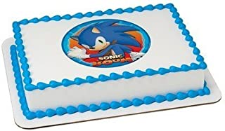 Sonic The Hedgehog Sonic Boom Licensed Edible Cake Topper #58165