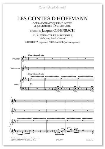 Offenbach, Jacques • CONTES D\'HOFFMANN (LES) • DUO