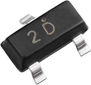 uxcell 50pcs A92 Transistor 2D PNP 300V 200mA 300mW Surface Mount SOT-23