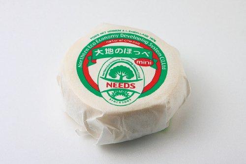 大地のほっぺmini 180g ナチュラルチーズ 短期熟成タイプ 北海道 十勝幕別 チーズ工房NEEDS