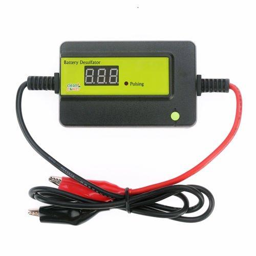 cleanpower Auto Pulse 12 24 36 48V Batterie Desulfator/Wartung für Batterien PKW, LKW, Boote, Motorräder AGM, Gel, SLA Blei-Säure-Batterie