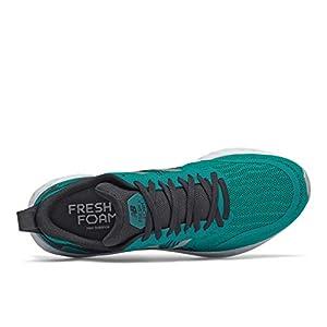 New Balance Men's Fresh Foam Tempo V1 Running Shoe, Team Teal/Black, 15
