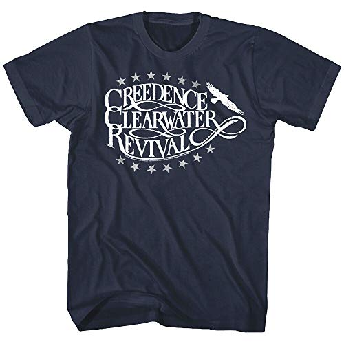 Creedence Clearwater Revival Eagle Men's T Shirt Stars CCR Rock Band Music Merch