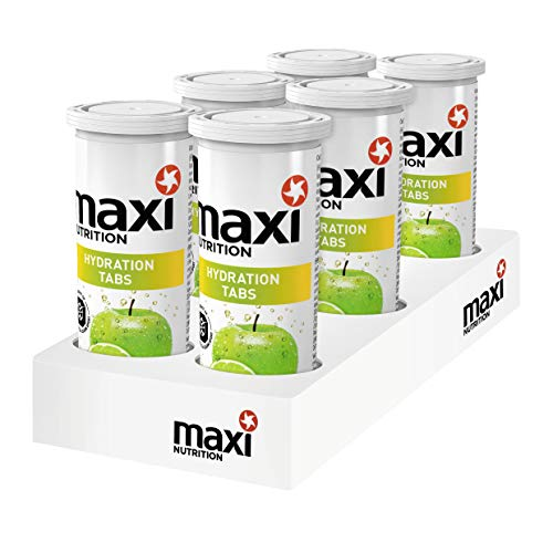MaxiNutrition Hydration Tabs Apple Lime, 240 g, 6er Pack (6 x 10 Tabs)