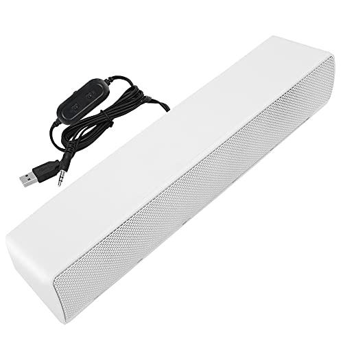 ROMACK Computer-Lautsprecher für Desktop USB Wired Stereo Soundbar Music Player...