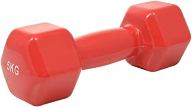 Fitness World Lifting Weights - 5 kg, red