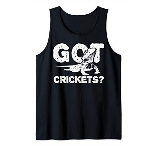 Lagartija: Got Crickets? - Insecto Camiseta sin Mangas