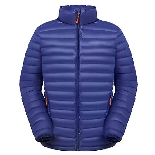 down jacket Veste en Duvet pour Hommes_700fp Remplissage en Duvet d'oie - Portable Emballable Sac Puffer d'hiver, Veste MatelasséE, Manteau pour Voyage, RandonnéE, Escalade & Sports d'hiver XL 2XL