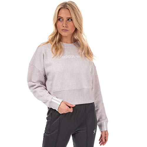 Adidas Originals Coeeze Cropped Sweatshirt für Damen, Orchid Pink Gr. 38, rose