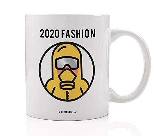 2020 Fashion Mug Funny Hazmat Suit Design Wash Your Hands Anti Germs Germaphobe Cleanliness Stay Heathy Hospital Worker Healthcare Nurse Doctor Health Care Hospital Warrior 11oz Ceramic Cup Digibuddha