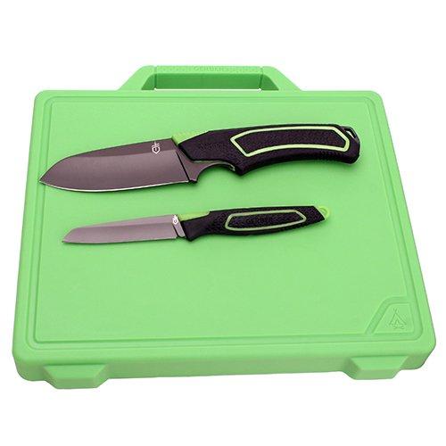 Gerber Outdoor GBR-1020851 Coltello, Grigio/Verde, Medio