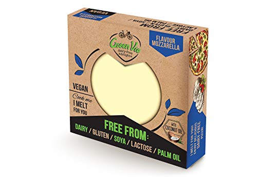 GreenVie Queso Mozzarella Bloque vegano 250g (Pack de 2)