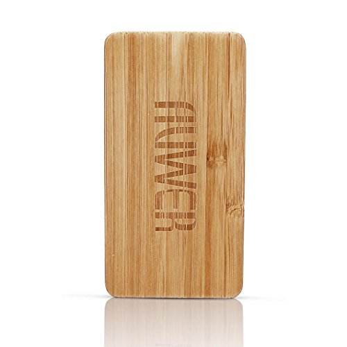 Yukong Auwer 4000mAh legno naturale caricatore Ultra Portable Battery Power Bank Ultra-Compact batteria esterna per iPhone iPad Samsung Galaxy maggior...