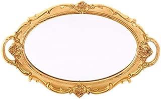 XPXKJ Oval Vintage Wall Mirror - Oval (Fruit Mirror)