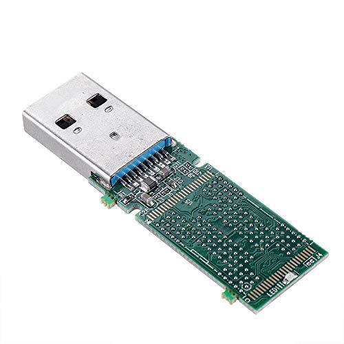 ffzhushengmy Electronics Module Parts BGA152 BGA132 BGA136 TSOP48 NAND Flash USB 3.0 U Disk PCB IS917 Main Controller Without Flash Memory for Recycle SSD Flash Chips 10pcs