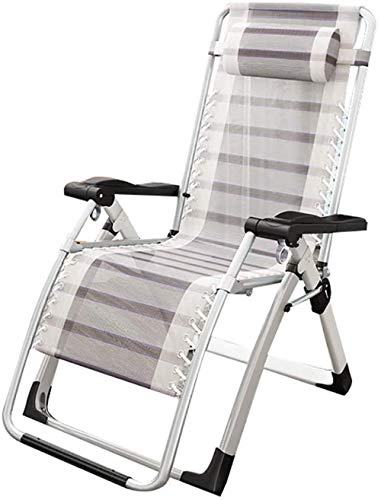 Recliner, Zero Gravity Reclining Fauteuil, draagbare verstelbare fauteuil tuinstoel, vrije tijd campingstoel strandstoel