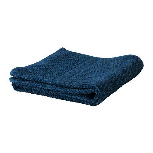 IKEA FRÄJEN Gästehandtuch in dunkelblau; 100% Baumwolle; (30x50cm)