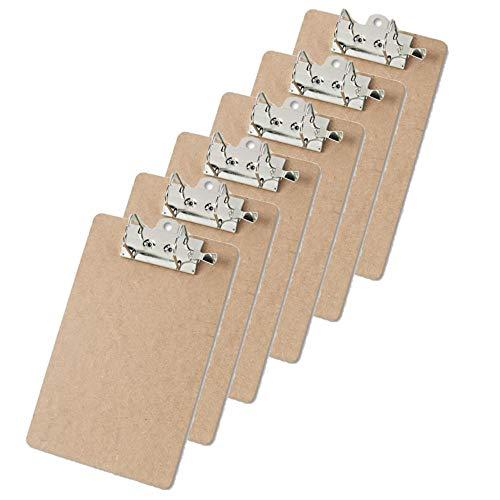 Recycled Hardboard Archboard Clipboard, 2' Clip...