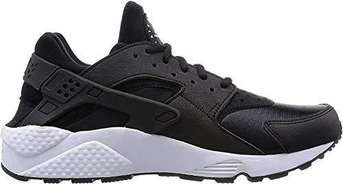 Nike WMNS Air Huarache Run, Baskets Femme, Noir (Black-White), 36.5 EU