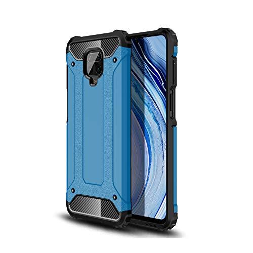 FANFO® Custodia per Xiaomi Redmi Note 9S/9 PRO/9 PRO Max, [Rugged Armor] [Design Meccanica Durevole] Massima Protezione da Cadute e Urti, Cover per Xiaomi Redmi Note 9S/9 PRO/9 PRO Max, Blu