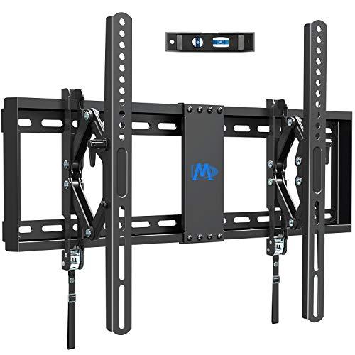 Supporto da parete per TV da parete, inclinabile ed estensibile per la maggior parte dei televisori a LED, LCD, OLED e Plasma fino a VESA 600 x 400 mm e 45,5 kg, con spina Fischer inclusa, MD2104-03