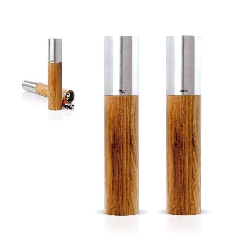 AdHoc peper + zoutmolenset GOLIATH MEDIUM roestvrij staal/acaciadesign