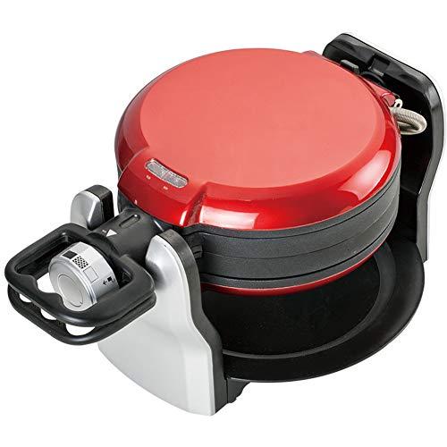 Wafelijzer IJzer Professioneel Roterend Non-stick Sandwich Maker Keuken Barbecue/Oven Geschikt voor Koken Bubble Eggs Meat Cake Bubble Waffle Red