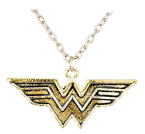 WAY2BB – Collar Wonder Woman chapado en oro DC Comics